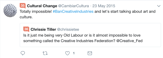 #BanCreativeIndustries
